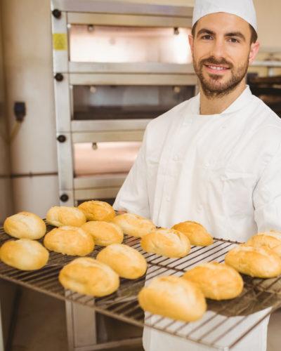 bager med brød